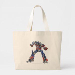 Optimus Prime Line Art 3 Large Tote Bag