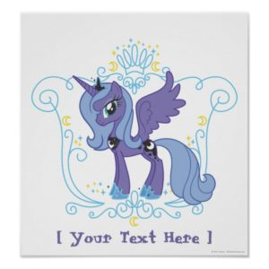 Personalized Luna Poster