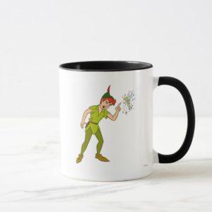 Peter Pan and Tinkerbell Disney Mug