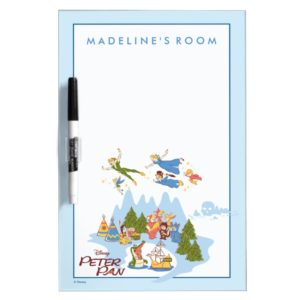 Peter Pan Flying over Neverland Dry-Erase Board