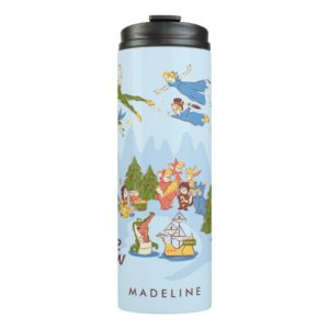 Peter Pan Flying over Neverland Thermal Tumbler