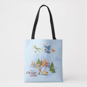 Peter Pan Flying over Neverland Tote Bag