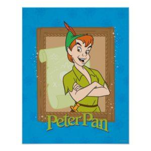 Peter Pan - Frame Poster
