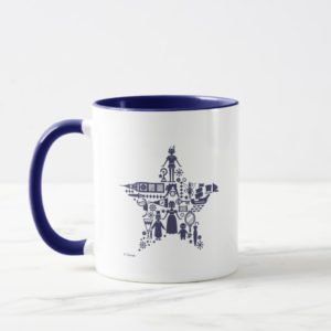 Peter Pan & Friends Star Mug