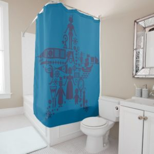 Peter Pan & Friends Star Shower Curtain