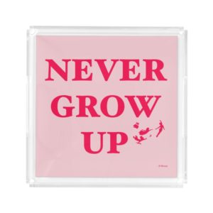 Peter Pan | Never Grow Up Acrylic Tray