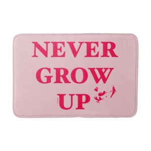 Peter Pan | Never Grow Up Bath Mat