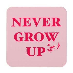 Peter Pan | Never Grow Up Beverage Coaster