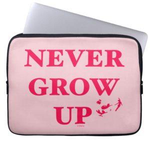 Peter Pan | Never Grow Up Computer Sleeve
