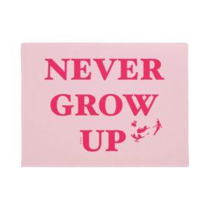 Peter Pan | Never Grow Up Doormat