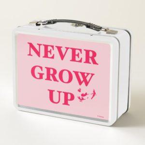 Peter Pan | Never Grow Up Metal Lunch Box