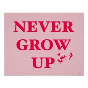 Peter Pan   Never Grow Up Poster