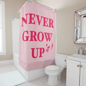 Peter Pan | Never Grow Up Shower Curtain