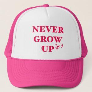 Peter Pan | Never Grow Up Trucker Hat