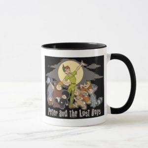 Peter Pan Peter Pan and the Lost Boys Disney Mug