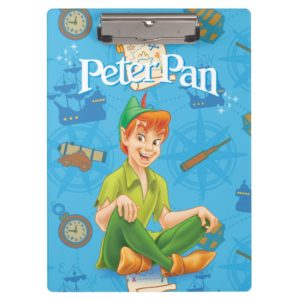 Peter Pan Sitting Down Clipboard