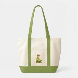 Peter Pan Sitting Down Tote Bag