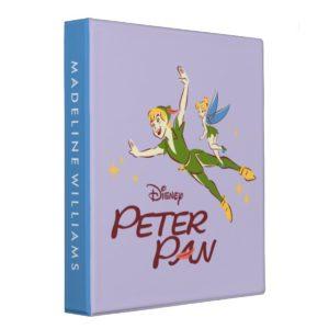 Peter Pan & Tinkerbell 3 Ring Binder