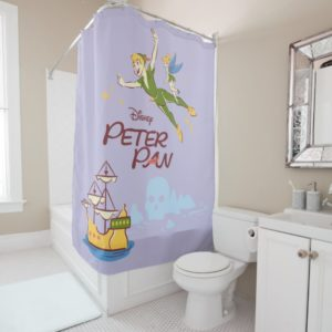 Peter Pan & Tinkerbell Shower Curtain
