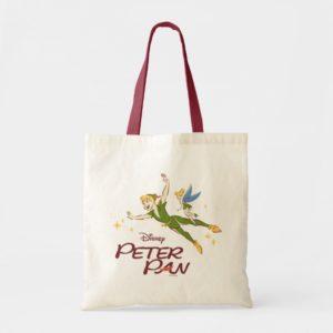 Peter Pan & Tinkerbell Tote Bag