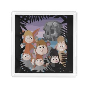 Peter Pan's Lost Boys At Skull Rock Acrylic Tray