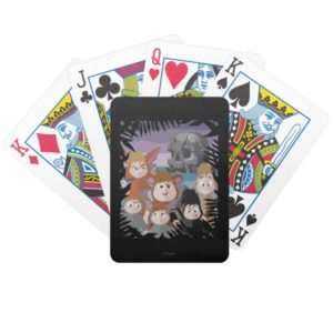 Peter Pan's Lost Boys At Skull Rock Bicycle Playing Cards