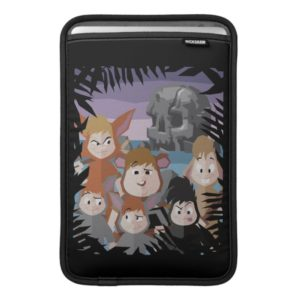 Peter Pan's Lost Boys At Skull Rock MacBook Air Sleeve