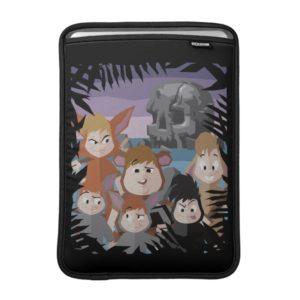 Peter Pan's Lost Boys At Skull Rock MacBook Air Sleeve
