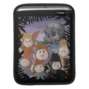 Peter Pan's Lost Boys At Skull Rock Sleeve For iPads