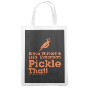 Pickle That! Grocery Bag