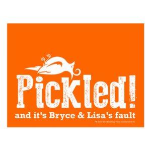 Pickled! Postcard