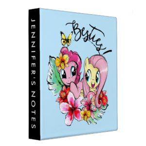 Pinkie Pie & Fluttershy | Besties 3 Ring Binder