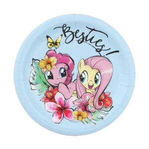 Pinkie Pie & Fluttershy | Besties Paper Plate