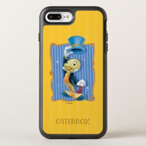 Pinocchio   Jiminy Cricket Lifting His Hat OtterBox iPhone Case