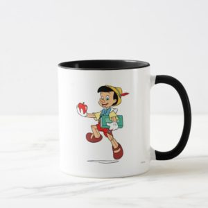 Pinocchio Pinocchio walking to school Disney Mug