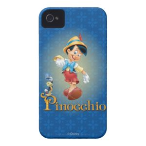 Pinocchio with Jiminy Cricket 2 Case-Mate iPhone Case