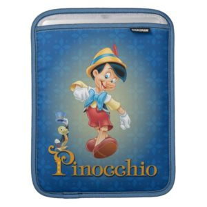 Pinocchio with Jiminy Cricket 2 Sleeve For iPads