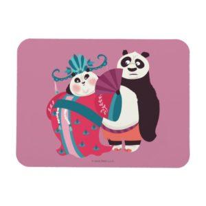 Po and Mei Mei Magnet