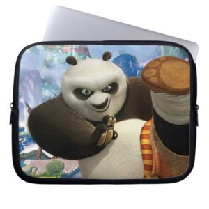 Po Kick Laptop Sleeve
