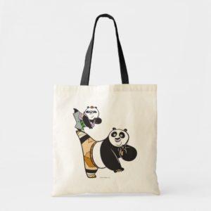Po Ping and Bao Kicking Tote Bag