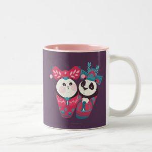 Po Ping and Mei Mei Two-Tone Coffee Mug