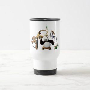Po Ping and the Furious Five Travel Mug