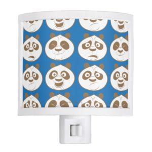 Po Ping Blue Pattern Night Light