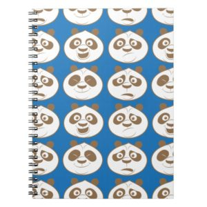 Po Ping Blue Pattern Notebook