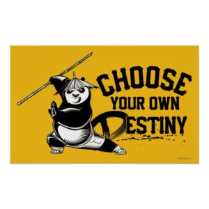 Po Ping - Choose Your Own Destiny Poster