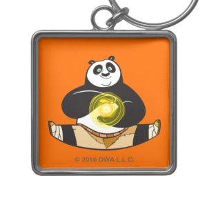 Po Ping Doing the Splits Keychain