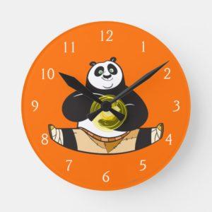 Po Ping Doing the Splits Round Clock