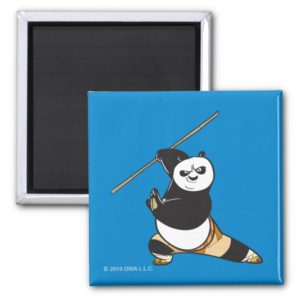 Po Ping Dragon Warrior Magnet