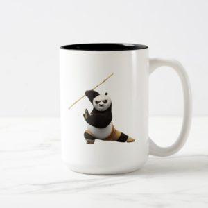 Po Ping Dragon Warrior Two-Tone Coffee Mug