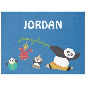 Po Playing with Pandas Fleece Blanket